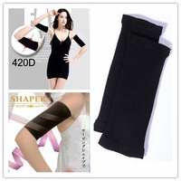 Hot Free shipping Black Ladies Slimming Weight Loss Arm Shaper Thin Cellulite Fat Burner Wrap Belt