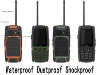 New L8 Quad Band TV PTT cell phone 2.4'' QVGA screen Dual SIM Camera Bluetooth FM Radio waterproof dustproof shockproof