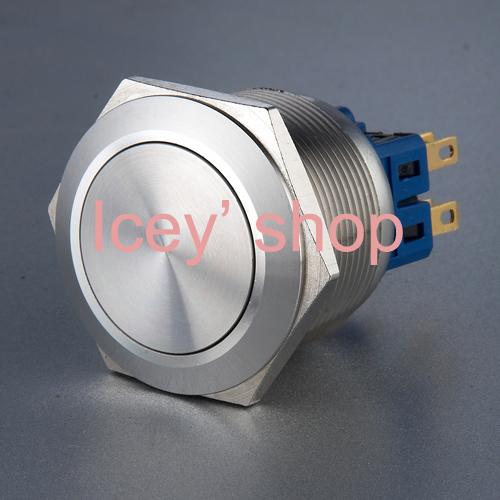 Onpow 12 мм винтовой вывод нержавеющая сталь кнопка