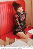 Free Shipping Autumn 2014 New Women's Shirt Casual Fashion Tops Women Beautiful Elegant Long-sleeved Blouses