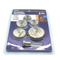 HSS Saw Blade,Rotary Tool Circular Saw Blade Set+Mandrel fit Dremel Cutoff+Shank