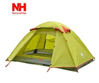 Naturehike outdoor camping hiking double layer aluminum tent ultra-light tent  free shipping