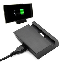 Black Magnetic Sync Charger Dock Cradle Holder For Sony Xperia Z Ultra XL39H Xperia Z1 L39H DK30 DK31