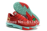 Top Quality KD 6 Christmas Shoes Free Shipping Via Epacket