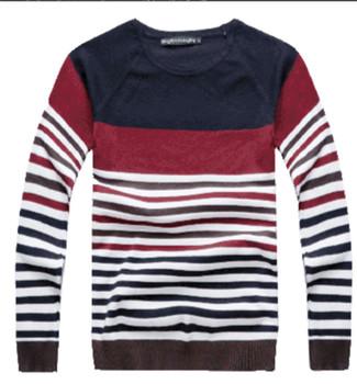 Модный свитер For Men Stripe свитер For Men MZL044