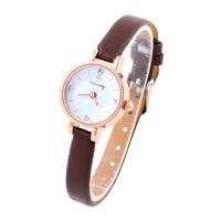 Women Rhinestone Watches Cheap Crystal hours Ladies Quartz Watch PU Strap Fashion Casual watches  Analog Dress watch Wristwatch