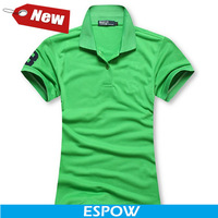 New Big Horse Brand Cotton Feminina Camisas Elegant Green