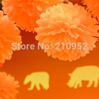 Free Shipping 90pcs mixed (10CM,20CM,25CM) Tissue Paper Pom Poms Wedding/Party/Birthday/Baby shower/Nursery  decoration