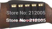 1x Allen hunting Shotgun Rifle 5 Shells Butt Stock Shell Cartridge Holder Shotshell Ammunition Carrier 5  waterproof material