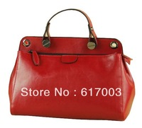 2014 new women's genuine leather handbag tote bags casual fashion messenger bag, bolsas femininas free shipping wholesale price