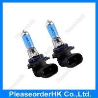 2pcs Ca Auto 9006 HB4 Halogen Xenon Light Bulb Lamp Super White 6000K 12V 55W Low Beam