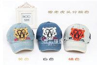 style children accessories kids cotton baseball tiger caps boys hats children sports Cap hat  196 , 3-8ages 3colors