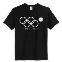 Russia Winter Olympic Sochi Ring Broken Men 2014 T Shirt