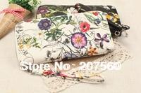 Free shipping!Fashion PU leather zipper wallet, printing grain women purses, clutch wallets, female wallet , money handbag