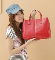 Special Offer! 2014 Hot Selling PU Lady's Fashion Handbag Classic Design Multicolour women tote shoulder bag
