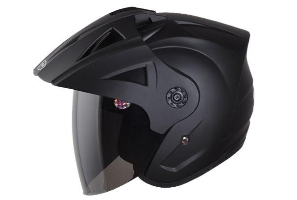 Nouveaux arrivants meilleure qualité abs+ anti- lentille brouillard casque de moto moitié style 7 couleurs motorcross casque casque de moto