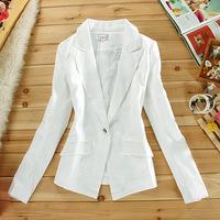 wholesale women's long sleeve suit jacket Ms. Spring Korean version of a short paragraph OL commuter career