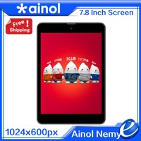 2014 Newest Ainol Numy 3G BW1 GPS MTK8389 Quad Core 3G Phablet Phone Android 4.2 Tablet PC 1GB 8GB  IPS Dual Camera 5MP 2MP