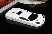 G4-049 Awesome white Racing car hard case for Samsung Galaxy S4 i9500 i9505 Bull Lanborghini