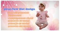 2014 New Baby girl suit: floral headband + pink cake shirt + floral shorts/ Pink short-sleeved shirt and casual shorts