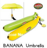 Free Shipping Creative Banana Umbrella Um-banana ( Yellow / Green ) Novelty Umbrella 1 pc,kids gifts