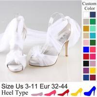 offwhite бисером 2 см бисера летние сандалии матери обувь Свадьба Обувь женщины обувь девушка Сандалии ручной работы настроены