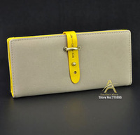 Hot sale 2014 new women's middle&long high quality PU leather purse Card holders Wallet callphone bag free shipping