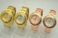 Fashion design 6colors available paidu crystal metal watches Japan PC21 quartz movement alloy metal band freeshipping 30pcs/lot