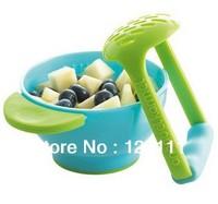 NUK Freshfoods Mash & Serve Bowl baby food supplement dismembyator grinding bowl