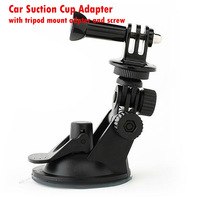 Hot Sale,Gopro Car Suction Cup Adapter Window Glass Camera Tripod Mount Diameter Base Mount compatible with Gopro Hero 4 2 3