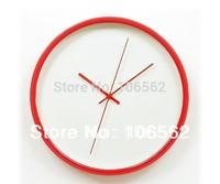 free shipping vintage 2014 decor new arrival Metal wall clock: peep creative wall clock sitting room clocks housewarming gift