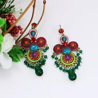 Latest Statement Vintage Earrings Of India Style Health Care Nickel Free Women Jewelry Tassels Earring 1103457