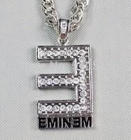 King of Rapper Eminem Hiphop The Equalizer Oscars Slim Shady Grammy Pendant Necklace