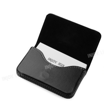 Injoy Hongkong Brand Men Women Haps Business Card Holder