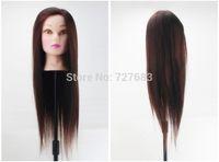 50% Real Human Hair Salon Hairdressing Mannequin Head Training Head