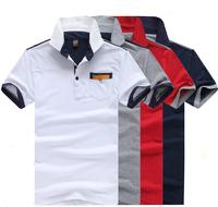 New arrival 2014 t shirts men fashion cotton short sleeve men t shirt free shipping