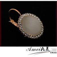 2014 NEW A hook female 14k gold elegant gentlewomen hook earrings drop earring