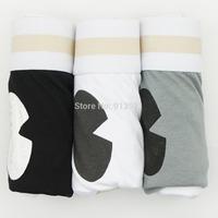 3 PCS/LOT fashion Cartoon Mens underwear Men boxer Sexy Man Shorts Cotton