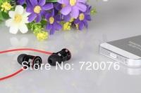 Metal 3.5mm Stereo earphone in-ear good bass &control / microphone earbud handsfree headset for HTC iPad iPhone Amoi Samsung