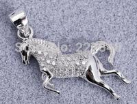 925 pure silver pendant  horse  accessories