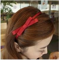 Free shipping 5pcs/lot Fashion women Hair accessories Handmade ribbon bow hairband Sweet headbands Popular hair wraps ornaments