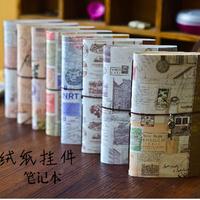 Korea stationery tsmip nostalgic vintage cashmere paper notebook notepad
