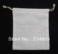 W12xH18c promotional cotton drawstring bag with custom your company printing logo