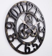 cheap clock wall art