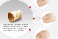 gel toe protector  GEL Fabric-Covered Toe Tube corn bunion guard pedicutre feet care 2 piece =1 pair free shipping