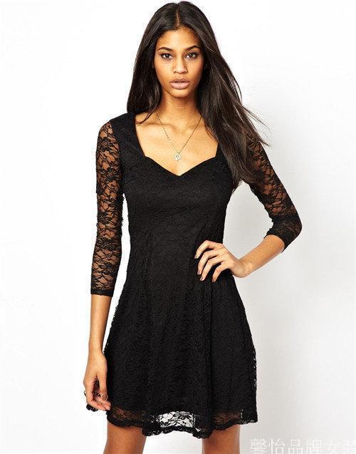 Женское платье Brand New 3/4 v A149 женское платье new brand v