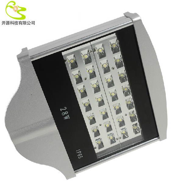 Free shipping 28W led street light 85-265v 2520lm 3 years warranty parking lot lights led street lamp(China (Mainland))