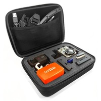 Free Shipping. GoPro Accessory.Gopro Middle Size EVA Full Set Case for Gopro Hero 3+/3/2/1. 22cm x 17cm x 7cm