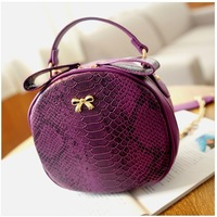 High Quality New 2014 PU leather women handbag sweet butterfly shaping mini women messenger bags chain shoulder bags small bag