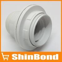 E27 Base Bulb Screw Thread Socket Lamp Holder (White)